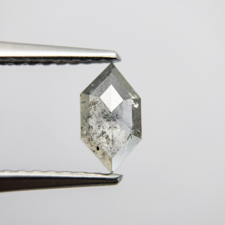 0.43ct 7.19x3.99x1.93mm Hexagon Rosecut 18019-38