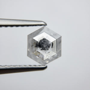 0.89ct 6.89x5.88x2.68mm Hexagon Rosecut 18032-09