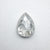 1.03ct 8.01x5.89x2.78mm Pear Rosecut 18033-03