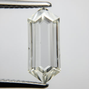 2.00ct 13.01x5.58x2.47mm SI2+ J/K Hexagon Rosecut 18077-01