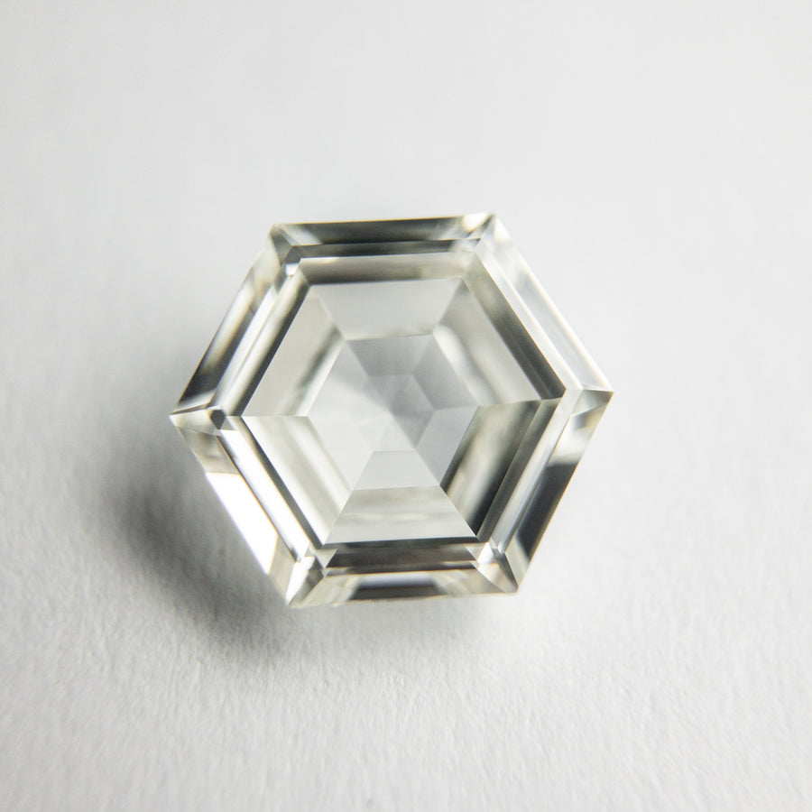 1.51ct 8.59x7.37x3.10mm GIA VVS2 L Hexagon Step Cut 18079-01