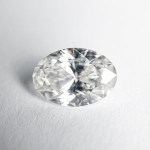 0.71ct 7.33x5.12x2.96mm GIA SI1 G Oval Brilliant 18084-01