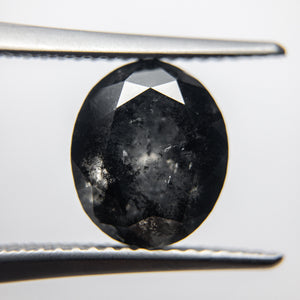 3.71ct 10.09x8.48x6.10mm Oval Brilliant 18092-09