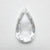 1.33ct 10.92x6.20x2.25mm GIA VS1 D Pear Rosecut 18099-01