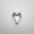 0.54ct 6.07x5.67x2.19mm SI1 K/L Shield Rosecut 18107-04