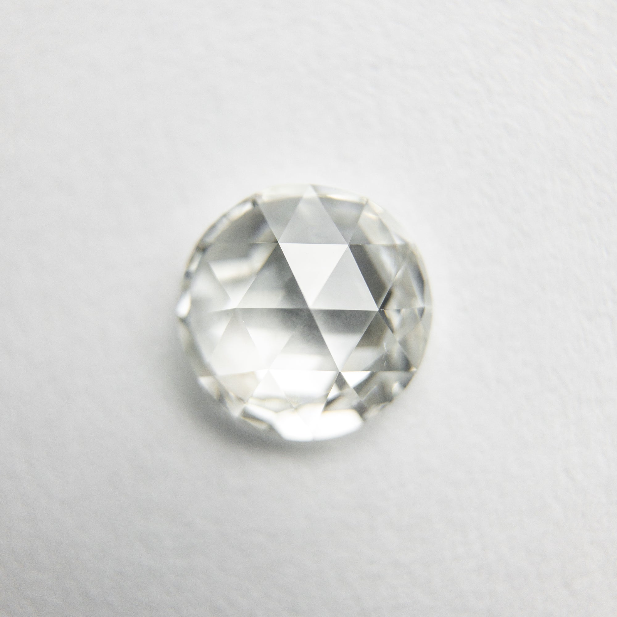 0.92ct 6.54x6.46x2.76mm SI1 H Round Rosecut 18108-03