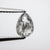 1.24ct 7.80x5.75x3.37mm Pear Rosecut 18109-03