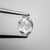 0.59ct 7.17x5.45x1.80mm SI2+ G Oval Rosecut 18111-03