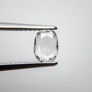 0.59ct 6.47x4.80x1.93mm SI2 D/E Cushion Rosecut 18111-06