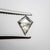 0.60ct 7.69x6.11x2.12mm Kite Rosecut 18116-03