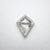 0.91ct 8.31x6.75x2.85mm Kite Rosecut 18116-04