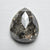 3.18ct 10.94x9.23x3.88mm Pear Rosecut 18119-01
