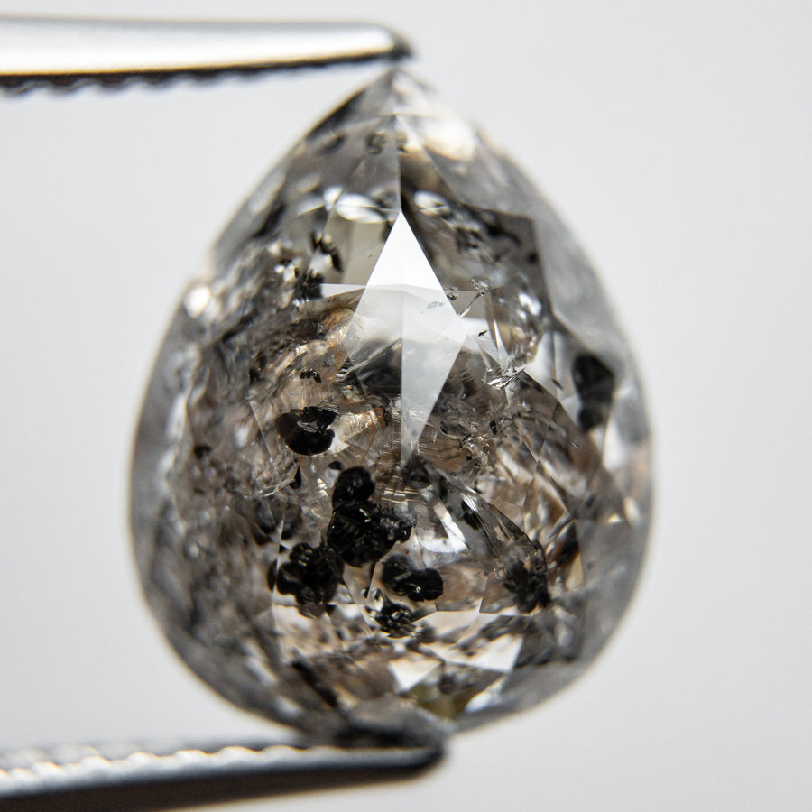 5.17ct 13.34x10.54x4.81mm Pear Rosecut 18119-07
