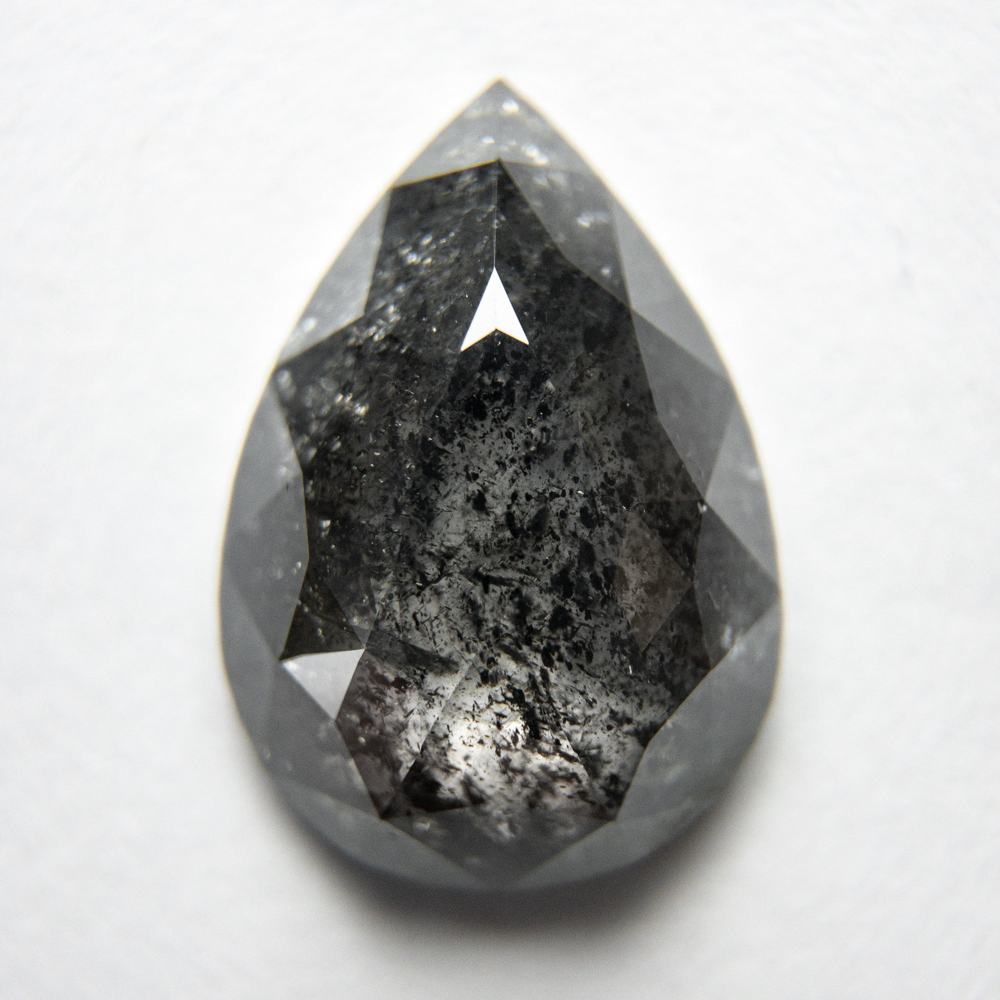 4.87ct 14.69x10.54x3.92mm Pear Rosecut 18120-02