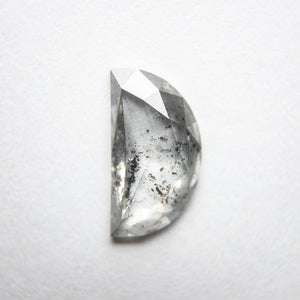 1.08ct 10.11x5.57x1.99mm Half Moon Rosecut 18121-01