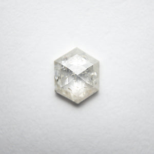 0.74ct 6.95x5.54x2.34mm Hexagon Rosecut 18121-08