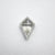 0.66ct 7.25x5.26x2.90mm Kite Rosecut 18127-04
