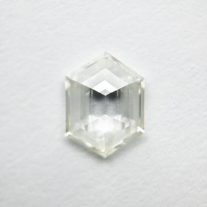 0.77ct 7.94x5.95x2.19mm Hexagon Step Cut 18129-04