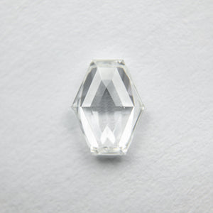 0.72ct 7.02x5.45x2.27mm Hexagon Step Cut 18129-06