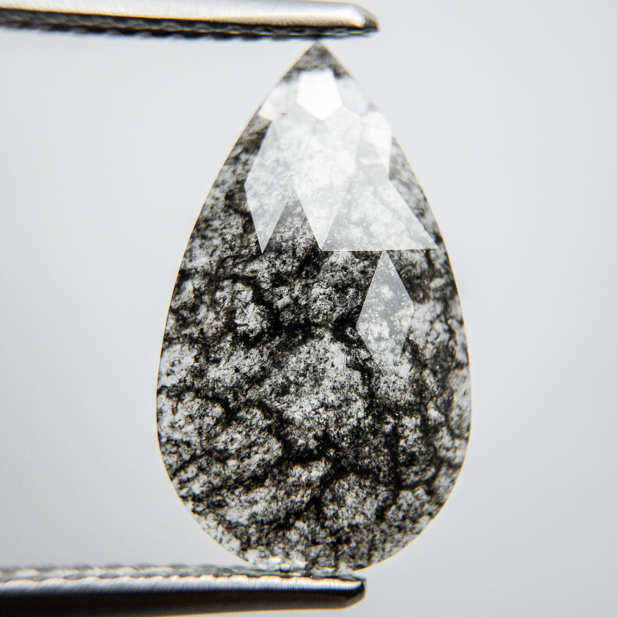 2.32ct 15.37x9.18x1.88mm Pear Rosecut 18132-01