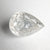 2.87ct 10.77x7.63x4.60mm Pear Double Cut 18133-06