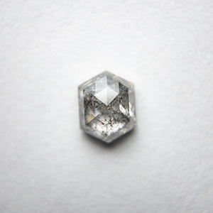 0.98ct 6.43x5.10x3.17mm Hexagon Rosecut 18134-06