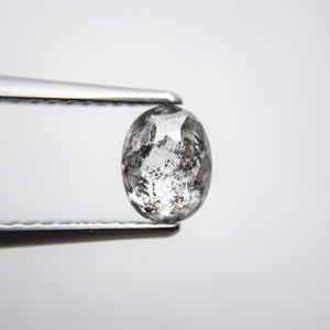 0.89ct 6.47x5.04x2.96mm Oval Double Cut 18134-33