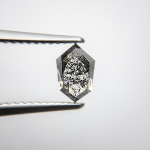 1.17ct 7.45x4.95x3.51mm Tapered Hexagon Rosecut 18134-51