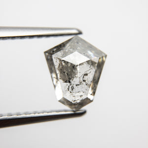 1.41ct 7.97x6.64x3.37mm Shield Rosecut 18166-06