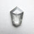 1.07ct 8.92x6.26x2.27mm Shield Rosecut 18166-11