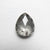 0.87ct 7.20x5.93x2.47mm Pear Rosecut 18167-01