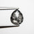 0.82ct 7.22x6.06x2.38mm Pear Rosecut 18167-08