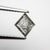 0.71ct 8.09x6.97x2.33mm Kite Rosecut 18167-34