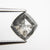 2.13ct 9.61x9.19x3.76mm Kite Rosecut 18168-02