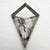 1.43ct 13.69x8.80x2.08mm Kite Rosecut 18197-01