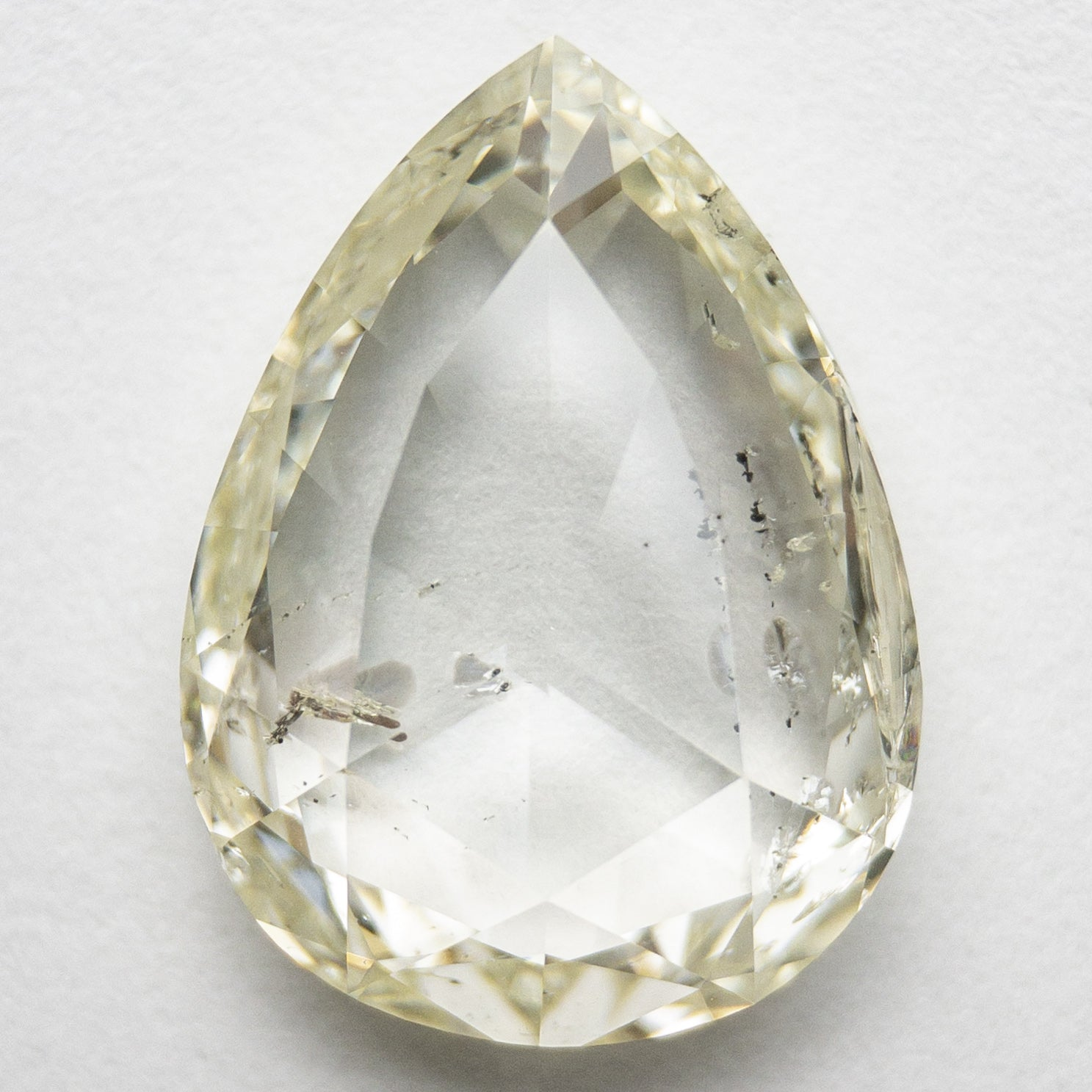 5.90ct 14.77x10.94x4.16mm Pear Double Cut 18202-01
