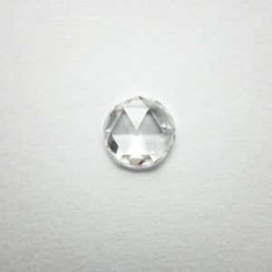 0.32ct 4.96x4.91x1.37mm Round Rosecut 18209-01