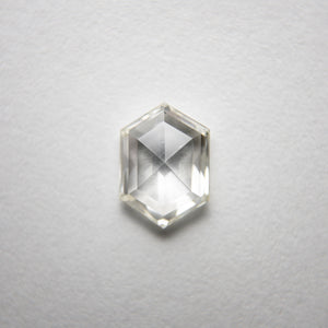 0.73ct 7.22x5.18x2.21mm SI1 J Hexagon Rosecut 18218-10