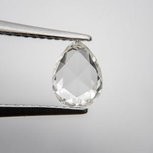 1.02ct 8.07x6.11x2.28mm VS2 F Pear Rosecut 18235-11
