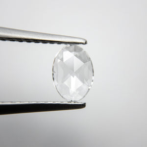 0.37ct 6.87x4.99x1.42mm Oval Rosecut 18237-04