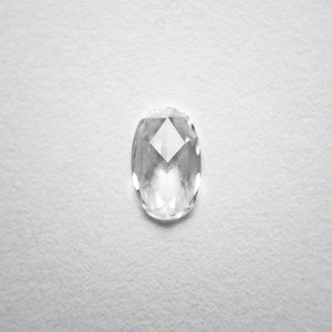 0.26ct 6.21x3.88x1.37mm Oval Rosecut 18238-06