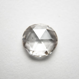 1.19ct 7.32x6.91x2.63mm SI1 Champagne Round Rosecut 18284-03