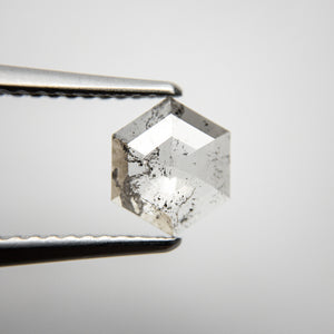 0.96ct 7.69x6.48x2.24mm Hexagon Rosecut 18286-02