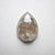 1.64ct 9.52x7.10x2.77mm Pear Rosecut 18293-09