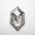 1.86ct 12.12x7.45x2.43mm Hexagon Rosecut 18313-08