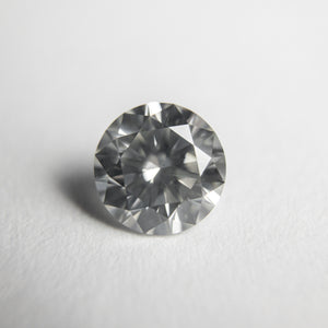1.02ct 6.41x6.45x3.95mm GIA SI2 Silver Round Brilliant 18321-01
