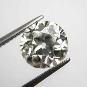 2.69ct 9.15x8.82x5.14mm SI2 K-L Old European Cut 18335-01