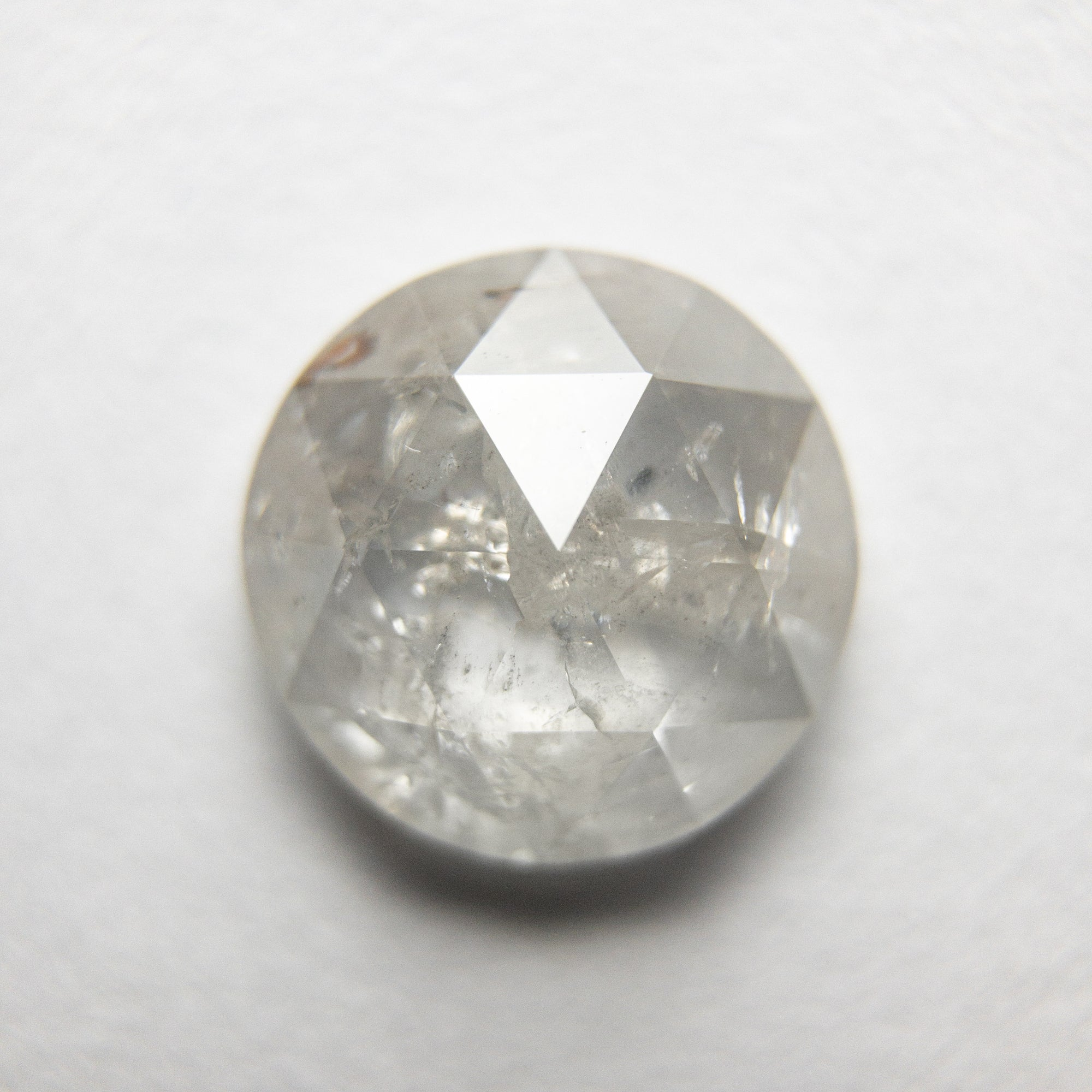 2.27ct 8.69x8.64x3.46mm Round Rosecut 18351-06