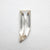 0.70ct 9.81x3.62x2.10mm Amorphous Rosecut 18369-22