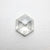 0.83ct 7.22x6.02x2.40mm Hexagon Rosecut 18386-04
